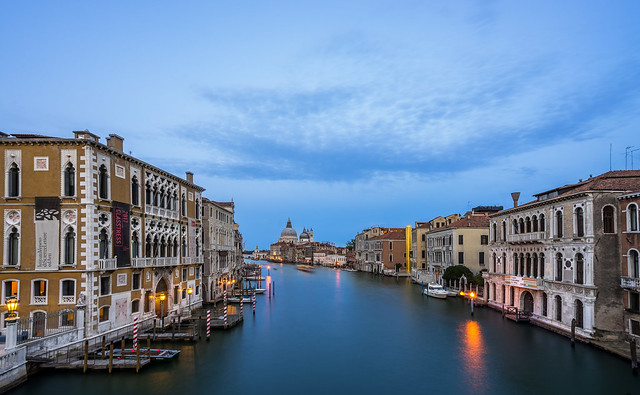 View from Ponte dell` Accademia