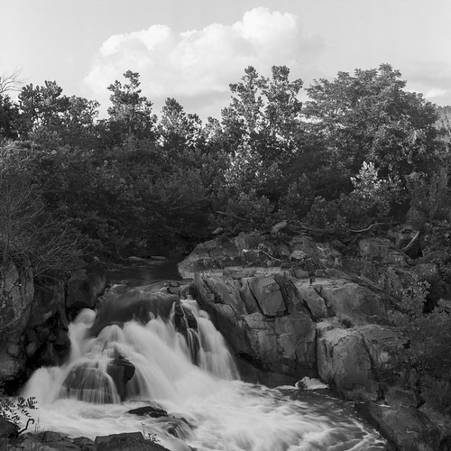 Waterfall,  C&O Canal, MD   by PolarBearM