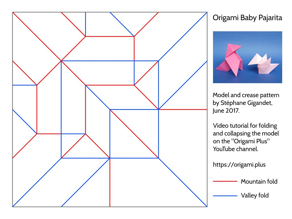 How to apply a mountain-fold in origami: page 1 | 768x1024