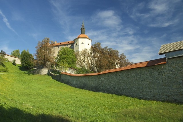 Castle at Skofja Loka.