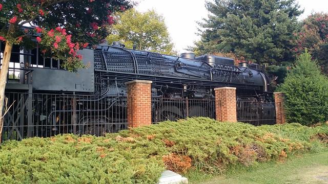 C&O Engine at Huntington Park Newport News VA