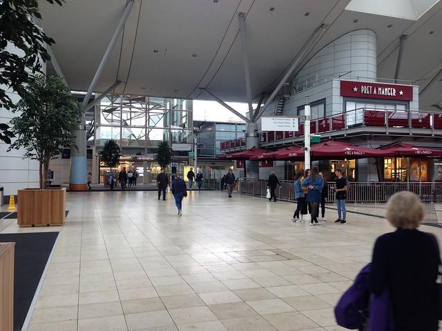 Interior of The Centre, Milton Keynes