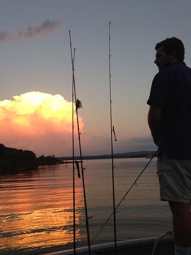 ben bartnicke fishing evening lake arkansas choctaw rods
