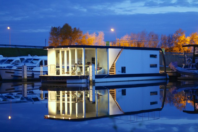 """Homeboat Glamping is one of many """"not glamping"""" forms of accommodation touting itself to the glamper market"""