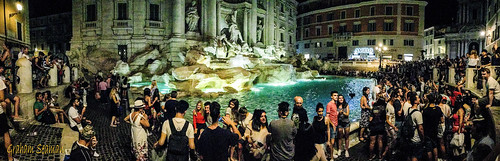 Trevi Fountain - panorama | by BABAYAGA321