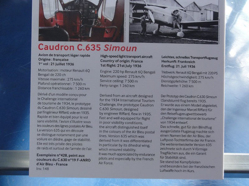 Caudron C. 630 Simoun 1