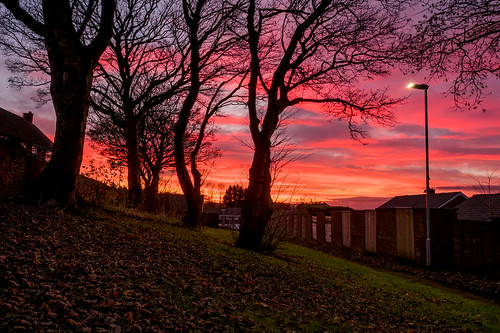 burnopfield codurham november2016 sunsets