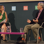 Richard Ford with Kirsty Wark |