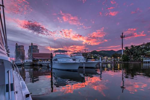 goldenhour islandlife ocean sky sunset ttyc trinidadtobago zaj ziadjoseph ziadjosephphotography ilovetrinidadandtobagocom nikond750 trinidadandtobagophotography yachtclub outtosea