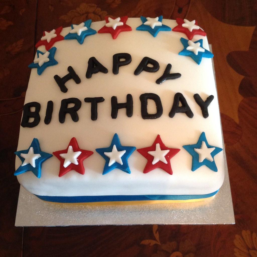 My Dads Birthday Cake