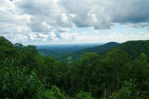 smart view trails cabin overlook blue ridge parkway virginia