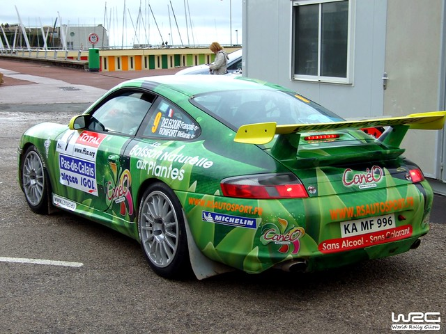 Rallye du Touquet 2007 - Porsche 911 GT3 - Delecour