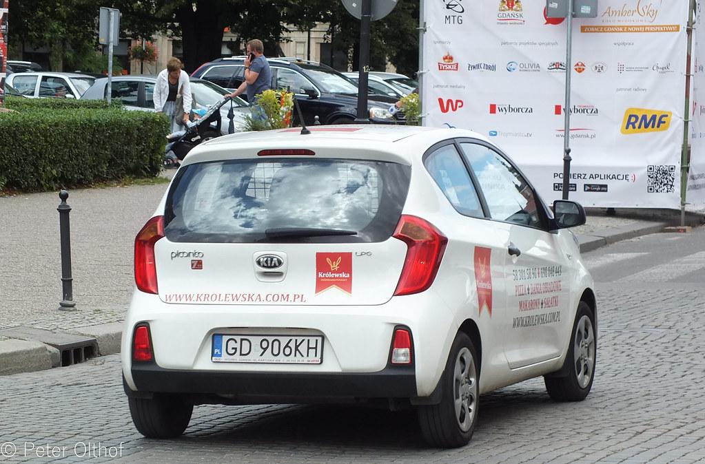 Wonderbaar Kia Picanto Van LPG | Gdańsk | peterolthof | Flickr QL-11