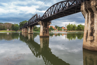 Famous bridge on the river kwai. Thailand | by lskornog