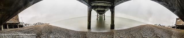 Under Deal Pier Panorama