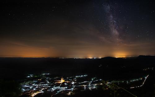 alajar huelva vialactea víalactea clouds night nightscape nocturnas nocturna nightflight nikkor naturaleza nightcity noche nature astrophotography astronomy astronomia astrónomo milkyway