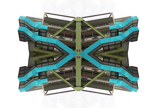 Escher's Blue Butterfly