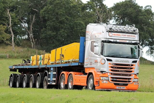 Global Port Services Scania Topline R580 V8 SV16AYK