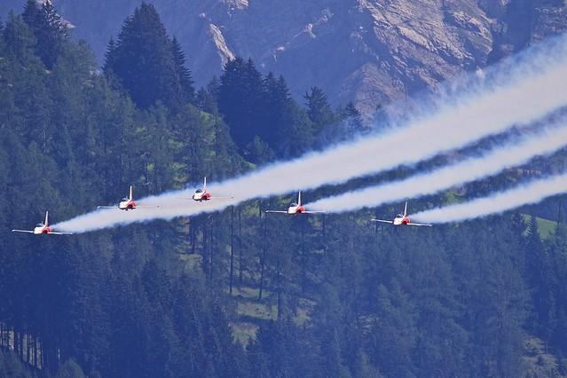 LSTS: Patrouille Suisse Northrop  F-5E Tiger