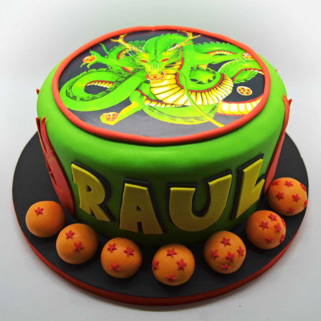 Dragon Ball Z birthday cake