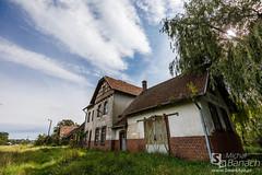 Abandoned railway station