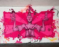 Sternenplatz Bridge Underpass Graffiti Mural, Konstanz, Germany