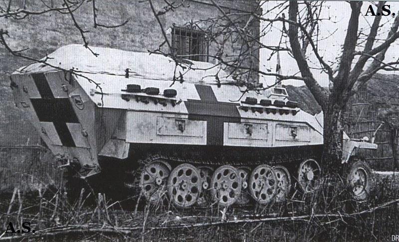 """Sdkfz251 """"sani"""""""