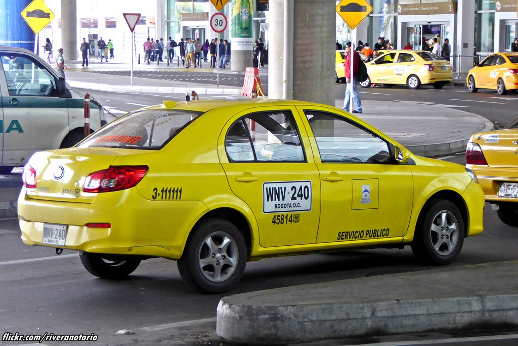 Image result for TAXI OF COLOMBIA