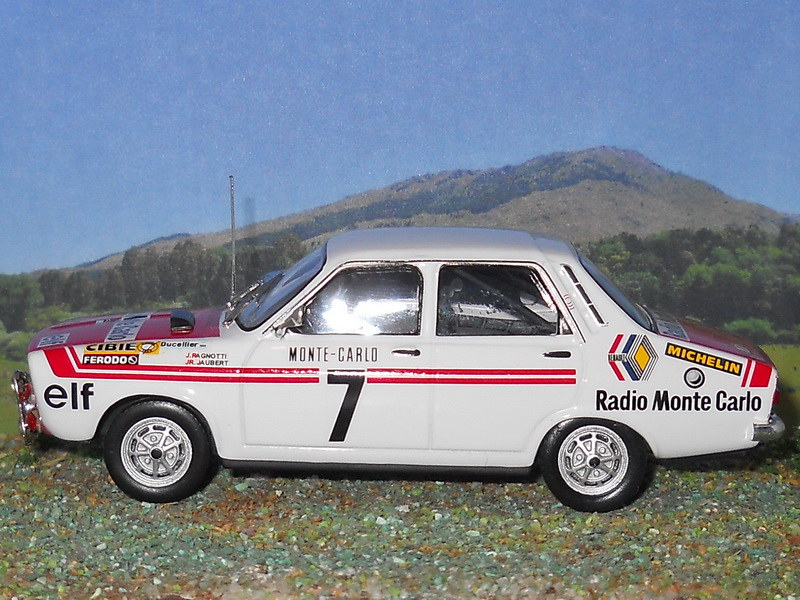 Renault 12 Gordini – Montecarlo 1973
