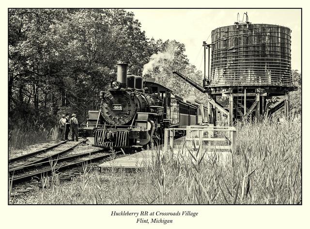 Huckleberry RR at Crossroads Village - Flint, Michigan