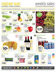 Native Sun Weekly Sales!