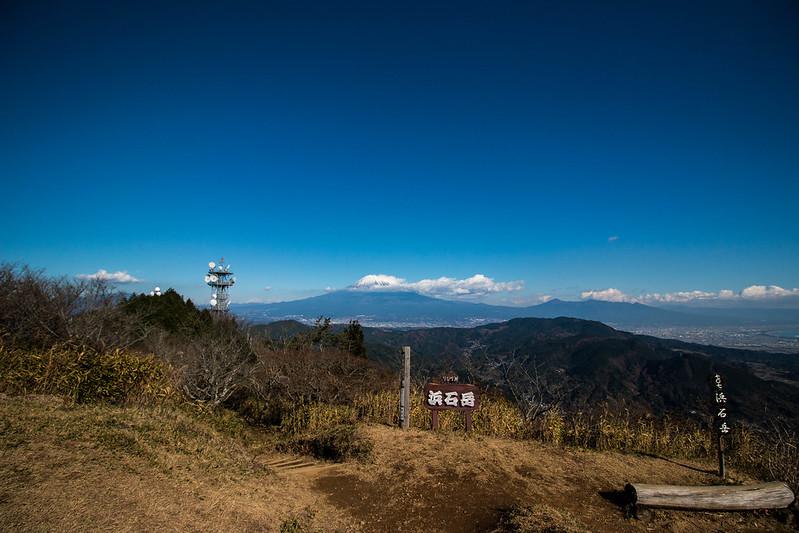 浜石岳の山頂