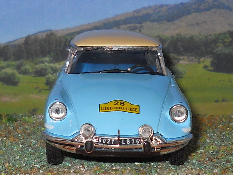 Citroën IS19 – Liege Sofia Liege 1962