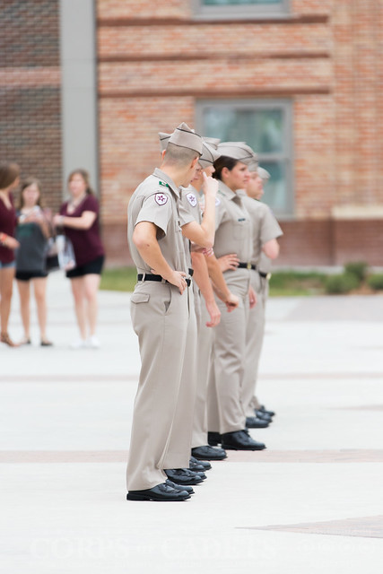Texas A&M Corps of Cadets Gameday UL Lafayette 2017