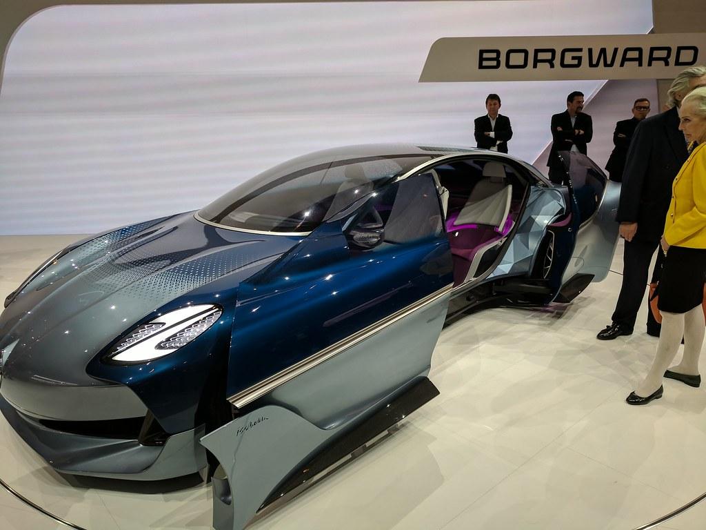 Future Borgward Car Concept Blue (IAA)