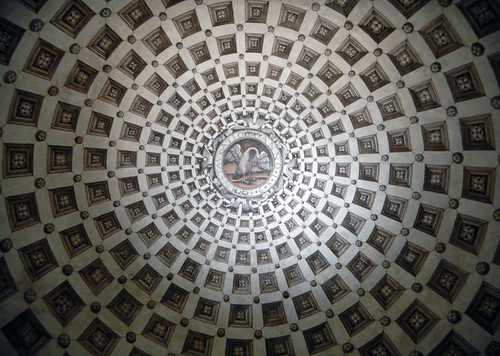 Najera Monasterio de Santa Maria la Real ceiling