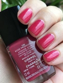 Chanel Rose Prodigious | by purple yellow