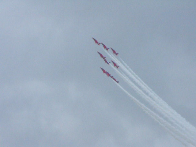 the Red Arrows @ RIAT - July 2017