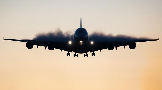 A6-EEA - Airbus A380-861 - LHR