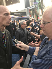 Pressline Interviews at the Star Trek Discovery Premiere - IMG_0085