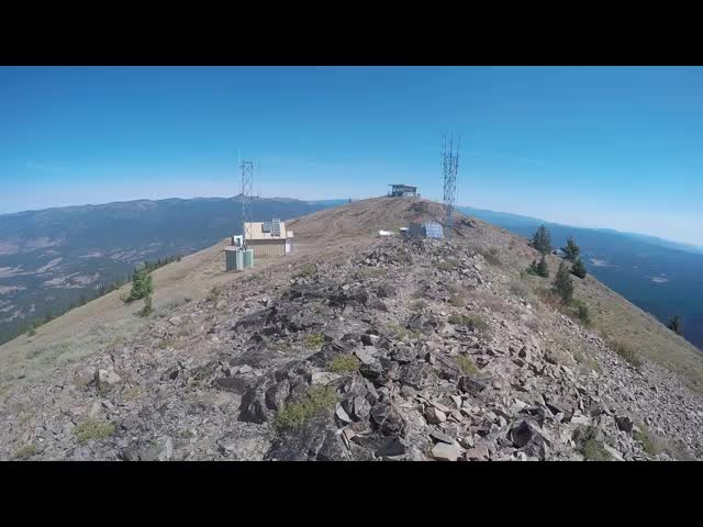 6119 GoPro video panorama from the summit of Dixie Butte two days before the solar eclipse