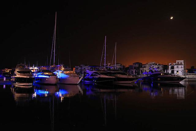 Marina in Limassol - Cyprus