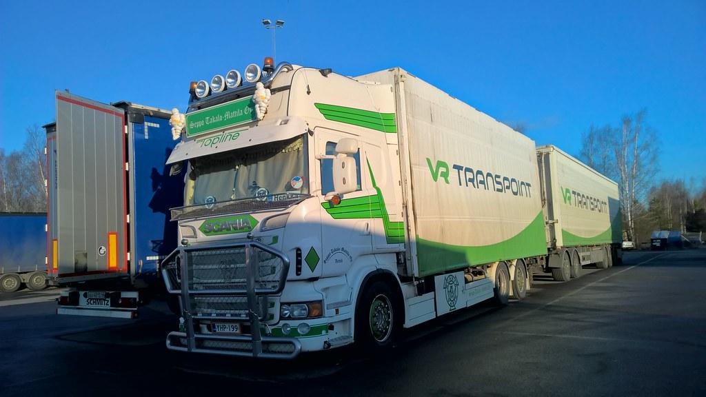 Finland Trucks | Scania R560, VR Transport, Seppo Takalo-Mat… | Flickr