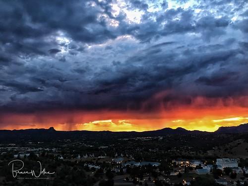 arizona monsoon clouds storm rain summer prescott iphone