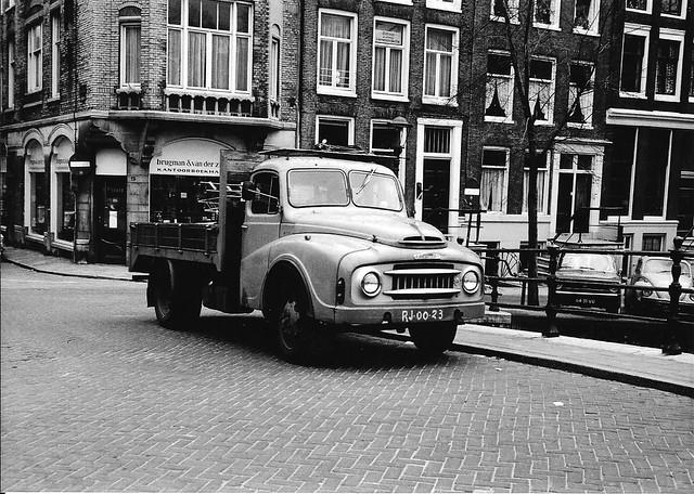 Austin 3KBN vrachtwagen 1957