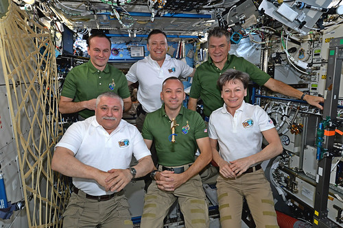 Change of command ceremony: Expedition 53 begins!   by astro_paolo