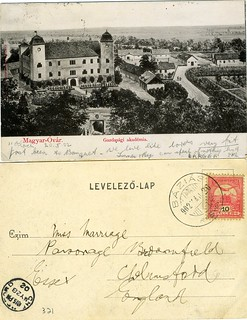Postcards sent by Essex Farmers in Hungary in 1902