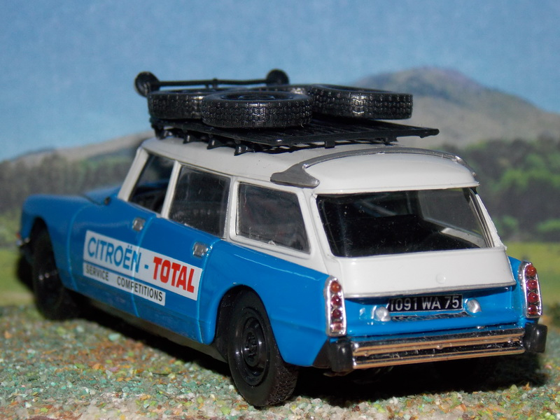 Citroën ID 21 Break – Service Competition – 1971