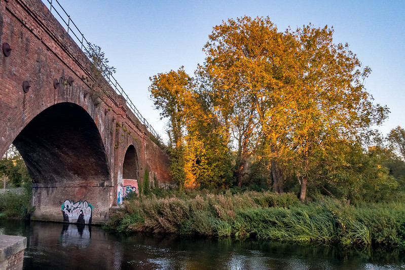 Railway Bridge over the Stour, Canterbury