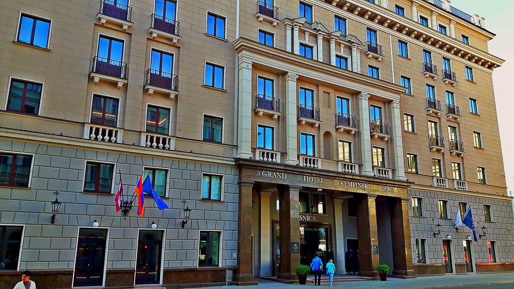 Grand Hotel Kempinski Riga Latvia 23 September 2017 Flickr